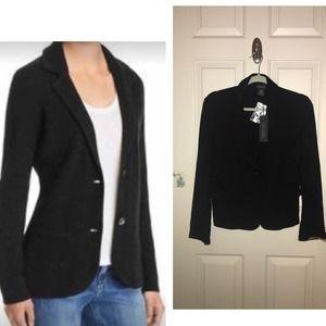 Rachel Zoe black blazer stretch M NWT